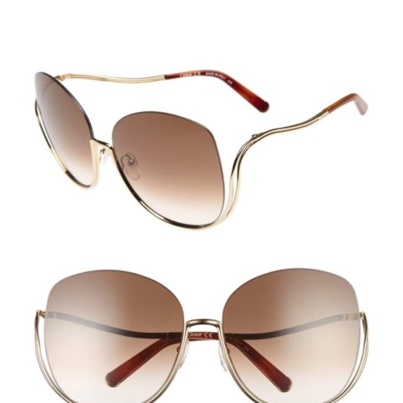 ecc2a5dc268 Chloe Accessories - Chloe milla 64mm oversize sunglasses.